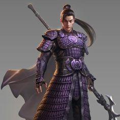 m Fighter hilvl Hvy Armor Cloak Halberd Asian Faction ArtStation by tian zi Character Concept, Character Art, Character Design, Fantasy Male, Fantasy Armor, Fantasy Inspiration, Character Inspiration, Kung Jin, Samurai Artwork