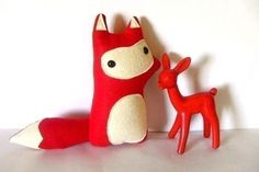 Liam - The Woodland Fox - Made to Order - Featured in Stuffed Magazine Vol 3 $28