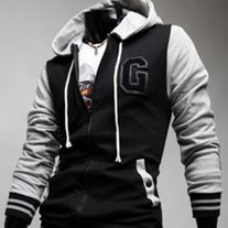 The item is a casual jacket for men. The material is very soft and comfortable. And the design is very fashion. It absolutely can show your personal charm. A perfect option for you, act now.  Extremely fashion, and eye-catching Soft and comfortable to wear and touch, Material: cotton blend C...