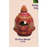 handmade-earthen-decor-ek-diva-mandir-redefining-tradition-179rp-b-online-shopping-for-diyas-and-lights-by-muhenera