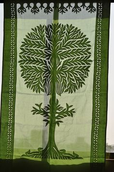 Tree of Life curtain.