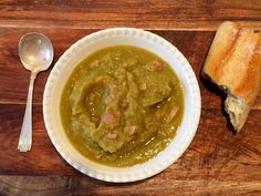Quick, easy and healthy ::Split pea soup - Photo property Jessica Gordon Ryan