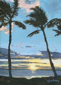 Kamaole Sunset by Stacy Vosberg