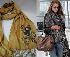 как носить шарф пашмина