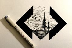 This would be cool with the Twin Peaks symbol and waterfall