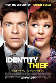 Identity Thief (Jason Bateman, Melissa McCarthy) out on Blu-ray and DVD this week Funny Movies, Comedy Movies, Great Movies, Hd Movies, Movies Online, Movies And Tv Shows, Funniest Movies, Excellent Movies, Comedy Actors