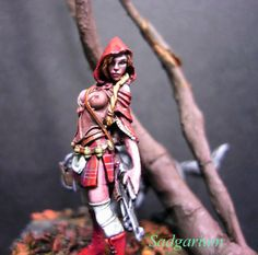 Dark Fantasy, Fantasy Art, Assassin's Creed Black, Dragon Miniatures, Warrior Girl, Figs, Rifles, Warhammer 40k, Character Concept