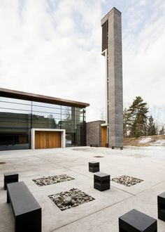 Iglesia Bøler / Hansen-Bjørndal Arkitekter AS