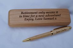 Hey, I found this really awesome Etsy listing at https://www.etsy.com/uk/listing/448522668/personalised-wooden-pen-case-and-pen