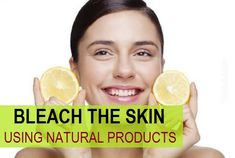 How to bleach skin fast with natural products. Wish to naturally bleach your skin then read this post to get your skin bleached with kitchen beauty products. Home Remedies For Face, Remedies For Glowing Skin, Home Remedies Beauty, Face Treatment, Skin Treatments, Natural Products, Best Face Products, Natural Bleach, Natural Skin