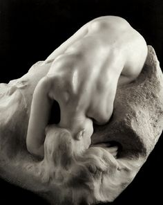 "Auguste Rodin - ""Danaïd"" 1885 (modeled after his assistant and lover, Camille Claudel)"