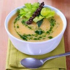 Sopa super fibras com legumes e farinha de berinjela - Foto: Getty Images