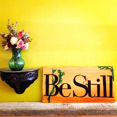 Hand Painted Wooden Sign by ColorsOfMae on Etsy