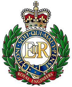 As she does with many other military groups, The Queen has a brooch version of the badge of the Corps of Royal Engineers (design seen abov...
