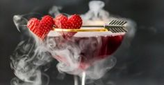 Love Potion #9 Martini (Triple Berry Martini) by Becky Hardin on DrinkWire