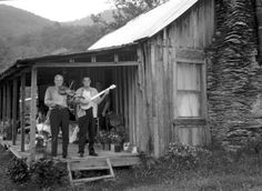 It would be impossible to grow up in Appalachia, and not play at least one instrument, or sing.