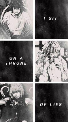 """""""Mi siedo su un trono di bugie"""" Cit traduzione: Quotes anime (Tradotte)"""