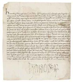 HENRY VII (1457-1509), King of England and Lord of Ireland. Letter signed ('Henricus R') to 'the Archduchess of Austria and Burgundy' [Joanna of Castille, Juana la Loca], Sheen Palace, 8 April 1497, in Latin