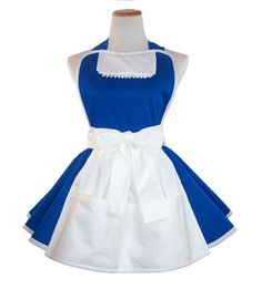Belle Apron Belle Running Costume Apron Belle by WellLaDiDaAprons