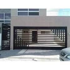 Image result for porton herreria minimalista Grill Gate Design, House Gate Design, Fence Design, Security Door, Entrance Gates, Iron Doors, Home Design Plans, Garage Doors, Architecture