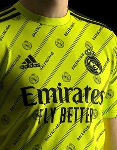 Real Madrid, Balenciaga, Adidas, T Shirts For Women, Logo, Fashion, T Shirts, Moda, Logos