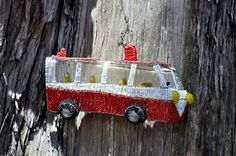 Beaded African bus Hanging wire sculpture by akwaabaAfrica on Etsy, $59.00 Beads And Wire, Wire Art, Hanging Wire, African, Invitations, Sculpture, Christmas Ornaments, Create, Holiday Decor