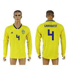 Schweden Andreas Granqvist 4 Heimtrikot WM 2018 Herren Langarm Vm 2018, Manchester United, Sports, Tops, Fashion, World Cup, Sweden, Football Soccer, Hs Sports