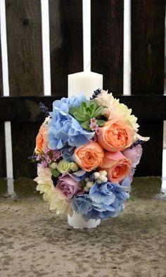 Flowers of Soul: Lumanari de botez Candels, Christening, Table Decorations, Vence, Flowers, Home Decor, First Holy Communion, Decoration Home, Room Decor