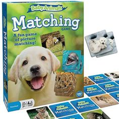Amazon has the Wonder Forge Baby Animals Matching Game for Boys & Girls Age 3 to 5 – A Fun & Fast Animal Memory Game marked down from $9.09 to $5.92 and it ships for free with your Prime Membership or any $25 purchase. What you get – Baby Animals Matching Game comes with 72…