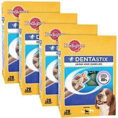 PEDIGREE – Dentastix multipack pour moyens chiens (10-25kg) – Boîte de 28…