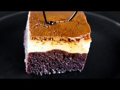 Impossible Cake, Caramel Flan, Flan Cake, No Cook Desserts, Cakes And More, Tiramisu, Food And Drink, Cooking, Ethnic Recipes