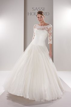 Sassi Holford samantha with lace jacket, i would totally adore this dress if the skirt was much fuller