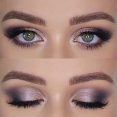 Vintage Makeup Dimension Halo — — — Brow Wiz and Brow Gel Prism Palette Opulence Lashes - Eye Makeup Tips, Makeup Goals, Skin Makeup, Makeup Inspo, Makeup Inspiration, Purple Eye Makeup, Makeup Hacks, Makeup Ideas, Prom Makeup