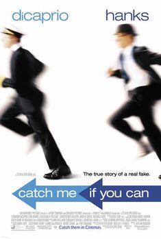 Tom Hanks - Catch Me If You Can with Leonardo DiCaprio.