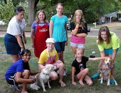 Some Dogs Had to Get Wet For Girl Scouts to Earn Bronze Award - Fenton-High Ridge, MO Patch