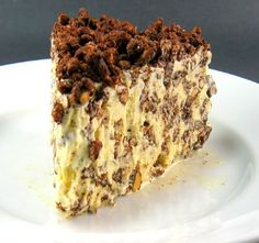 Ice Cream Crunch Cake