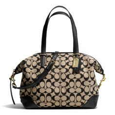 The Bleecker Cooper Satchel In Printed Signature Fabric from Coach