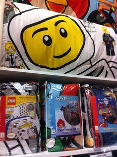 Bed, Bath,& Beyond-- Lego bedding set :-)