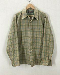 Vintage Pre WW2 1937 US Military Wool Button Down Field Shirt 82JdW