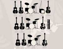 The Beatles.  The Beatles Infographics