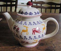 Emma Bridgewater British Library Four Cup Teapot