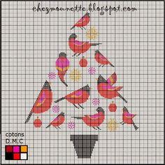 De Borduurvrouw: Borduren voor kerst 2013