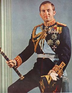 King Constantine II of Greece