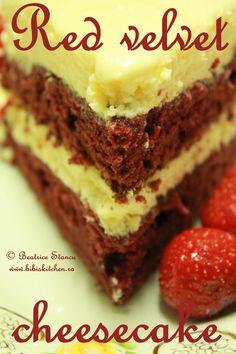 Recipes in English English Recipes, English Food, Yummy Recipes, Cooking Recipes, Yummy Food, Red Velvet Cheesecake, Eat Dessert First, Shakira, Puddings