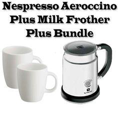 nespresso 3192us aeroccino plus milk frother plus outfit - Nespresso Aeroccino