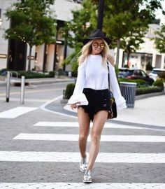 If you don't own a pair of #Oxfords yet, you definitely should! Take a look at how you can rock these killer shoes like the true fashionista you are! #shoeaddict   www,platosclosetbrampton.com