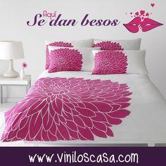 ❤ Besos, besos y más #besos --> www.viniloscasa.com ❤