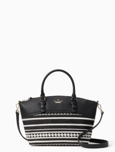 2c3d13dfb50b jackson street fabric small dixon | Kate Spade New York Bago, Leather  Satchel, Kate