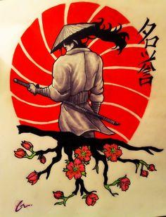 Samurai Tattoo Design by MrMattFl on DeviantArt                                                                                                                                                                                 More