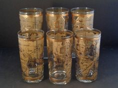 Barware collection cera old world map highball glasses man barware collection cera world map highball glasses gumiabroncs Gallery
